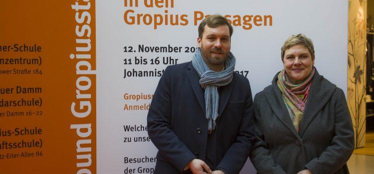 Schulmesse der Oberschulen in der Gropiusstadt am 12. November 2016