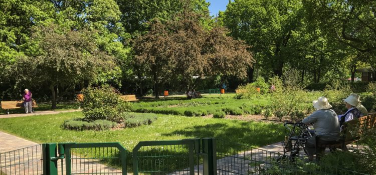 Gut investiertes Geld: Rosengarten in der Gropiusstadt erneuert
