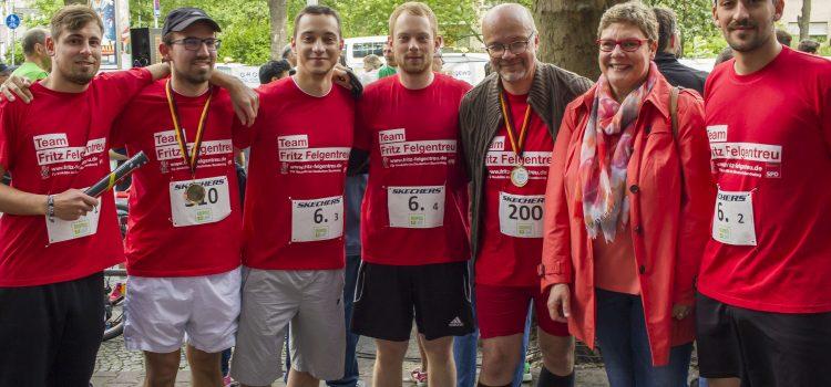 4. Gropius-Lauf mit vielen Teilnehmer*innen und toller Stimmung