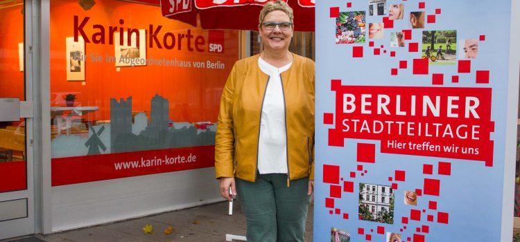 Erster Stadtteiltag mit tollen Gesprächen und viel Engagement in der Gropiusstadt
