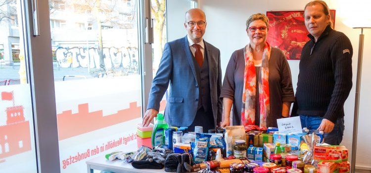 Viele Spenden für die Neuköllner Kältehilfe gesammelt