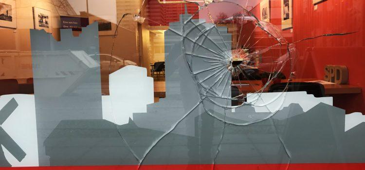 Angriffe auf SPD-Büros in der Silvesternacht – auch in der Gropiusstadt